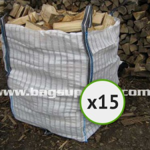 21 Stripe Vented Log Bags - (15)