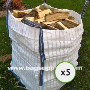 26 Stripe Vented Log Bags - (5)