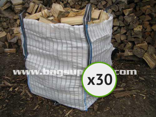 21 Stripe Vented Log Bags - (30)