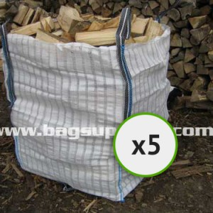 21 Stripe Vented Log Bags - (5)