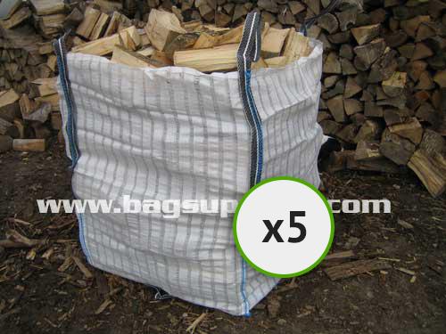 21 Stripe Vented Log Bags - (5)