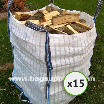 26 Stripe Vented Log Bags - (15)